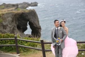 沖繩萬座毛婚紗外景拍攝 by Bell For
