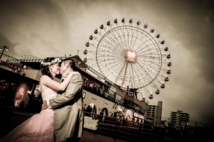 沖繩美國村婚紗外景拍攝 by Bell For