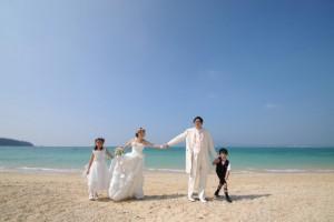 沖繩婚紗家庭記念照