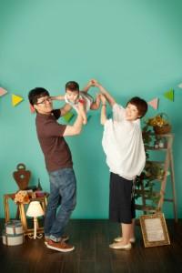 京都影樓家庭記念照拍攝