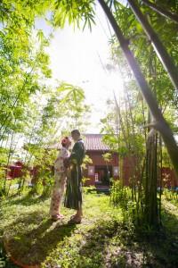 沖繩家庭記念照