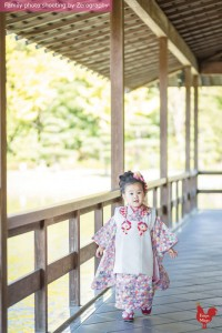 京都七五三家庭記念照