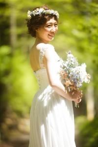新婦婚紗個人照