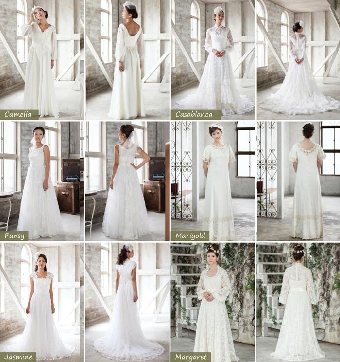 手工古典婚紗