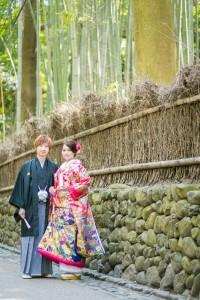 京都好日和服嵐山婚照