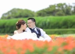 婚紗照片 福岡 日本