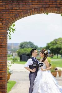 婚紗照片 海ノ中道海浜公園