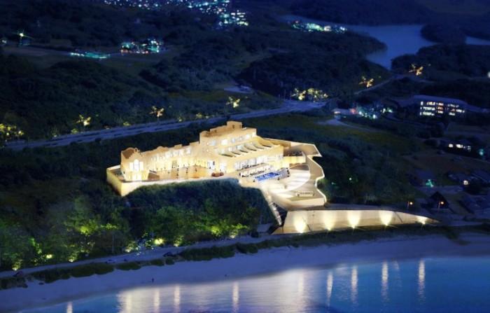 HOTEL GREGES夜景