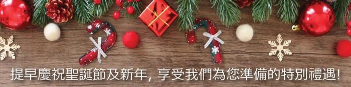 提早慶祝聖誕節及新年, 享受我們為您準備的特別禮遇